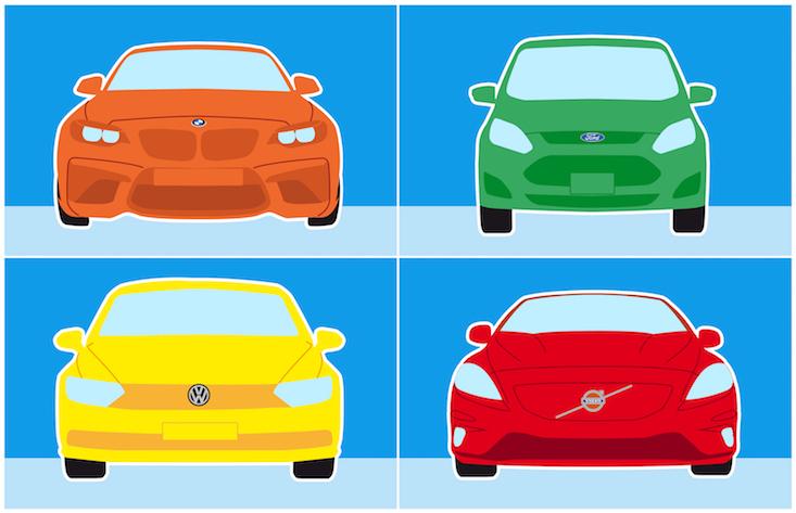 auto verkoop merken en modellen
