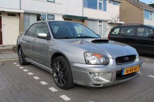 Subaru Impreza verkocht
