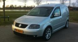 Volkswagen Caddy verkocht